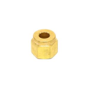 Brass Nut 1/4