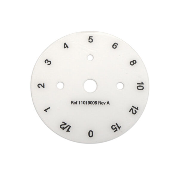 Caire Generation 3 Stationary 12 Position 0-15 LPM Number Disc