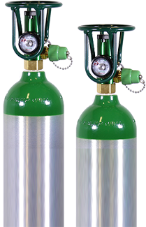 O2GO Shown on a cylinder